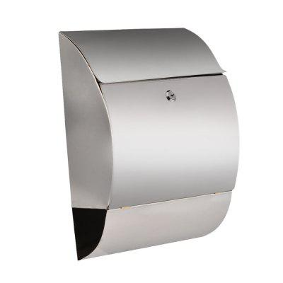 Mailbox Mail Box Letter Locking Decorative Stainless Steel Wall Mount Outdoor