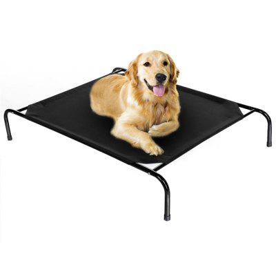 Elevated Dog Bed Lounger Sleep Pet Raised Cot Hammock for Indoor Outdoor