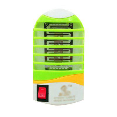 1W Round Head Mosquito Killer Light with Switch Led Mosquito Repellent Night Light