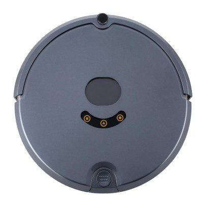 New High Suction Robotic Vacuum Cleaner Set Filter for Pet Fur Allergens Cleans Hard Floors Carpets