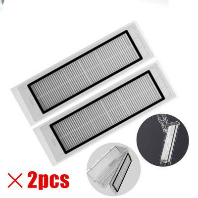 2 PCS Durable Framed HEPA Filter For XIAOMI Mijia Roborock Robot Vacuum Cleaner