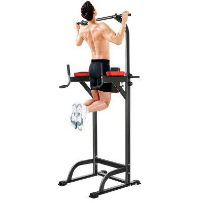 Chin Up Bar Adjustable Abs Workout Knee Crunch Triceps Station Power Tower