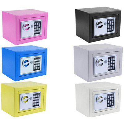 New Digital Electronic Safe Security Box- Random Color