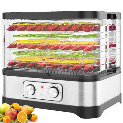 HOMDOX Stackable Trays Food Dehydrator Machine Electric Multi-layer Food Preserver