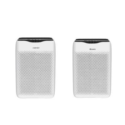 HOMDOX  Air Purifier Smart Control Home Office HEPA Air Cleaner With 4-layer Filter