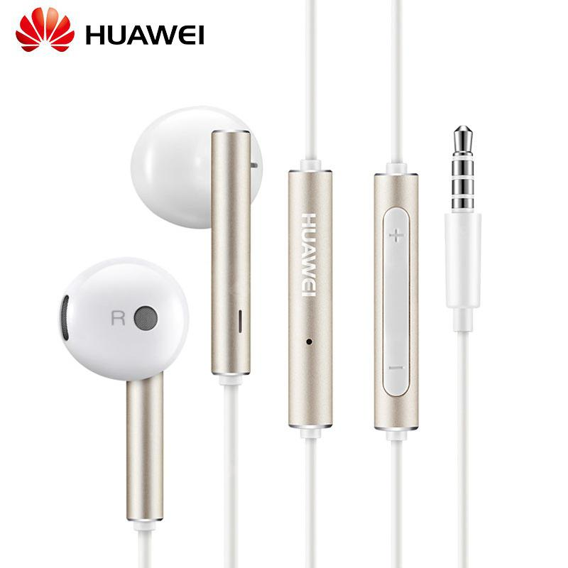 Original Huawei AM116 Earphone with Mic Volume Control Speaker Metal  Headset for Huawei P9 P10 Honor