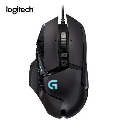 Logitech G502 HERO Gaming Mouse 12000DPI Wired RGB Mouse with Delta Zero for Games