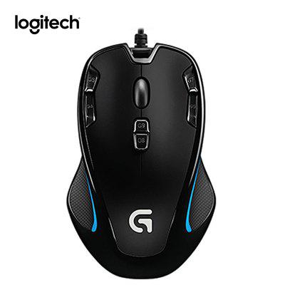 Logitech G300S Wired Gaming Mouse Designed for MMO Mouse 2500DPI 9 Rechargeable Programmable Buttons