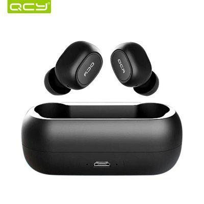 2018 QCY T1 TWS Bluetooth  Wireless Earphones with Dual Microphone Sports Headphones for IOS Android