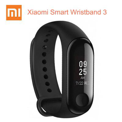Original Xiaomi Mi Band 3 Smart Wristband Touch Screen Message Heart Rate Time Smartband Fitness