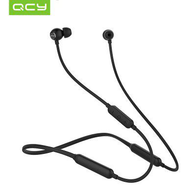 2018 QCY L1 Magnetic Bluetooth Headset with Mic Wireless Earphones Sport IPX4 Level Waterproof