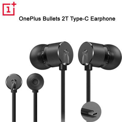 OnePlus Bullets 2T In-Ear Headset With Remote Mic Oneplus 6T 7 7pro 7T Mobile Phone