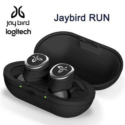 Logitech Jaybird RUN True Wireless Earphones For Running Secure Fit Waterproof SweatProof Custom