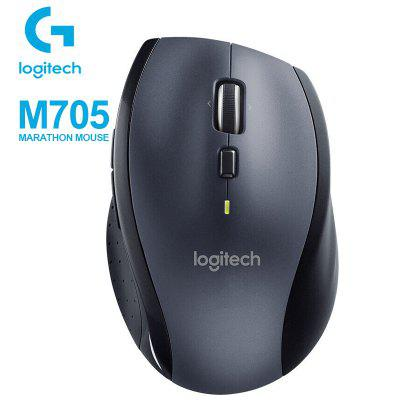 Logitech Marathon Mouse M705 with  Unifying Receiver Laser Tracking Additional Buttons