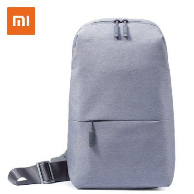 Xiaomi Backpack Bag Urban Casual Diagonal Chest Bag Shoulder Type Unisex Canvas Fashion Backpack