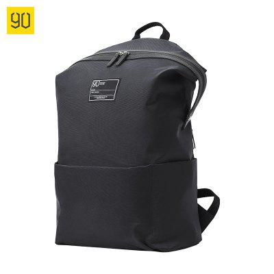 90FUN from Xiaomi youpin Stylish wild casual personality contrast color college wind backpack