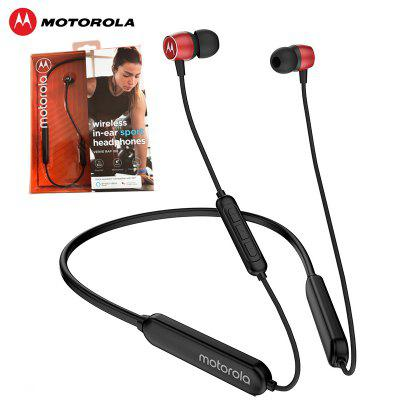 Motorola VerveRap100 Wireless Earphone with Magnet Design Bluetooth 5.0 IPX5 Waterproof Neckband
