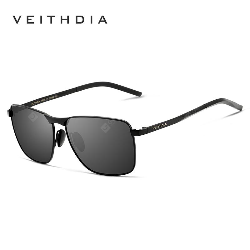 VEITHDIA Vintage Sunglasses Polarized Lens Eyewear Accessories Male Sun Glasses For Men Women 2462