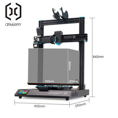 Artillery Sidewinder-X1 3D Printer with Dual Z-axis Direct Drive Motor for Precision Printing