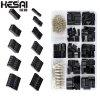 HESAI 620pcs Du Bang head Connector 2.54mm Cable Jumper Wire Pin Header Housing Kit