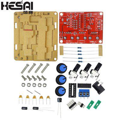 HESAI XR2206 Function Signal Generator DIY Kit Sine Triangle Square Wave 1HZ-1MHZ DDS with Manual