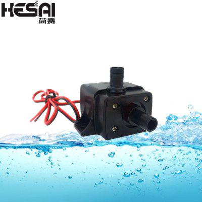 HESAI 12V Ultra-quiet3.6W 240L H Flow Rate Waterproof Brushless Pump Mini Submersible Water Pump