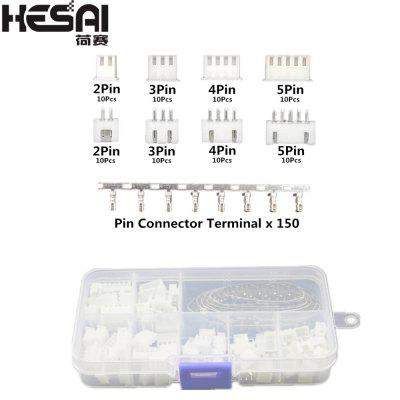 HESAI XH2.54 2p 3p 4p 5pin 2.54mm Pitch JST Connector Wire Connectors Adaptor XH DIY Kits