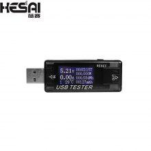 Gearbest HESAI 8 in1 QC2.0 3.0 4-30v Electrical power USB capacity voltage tester current meter monitor