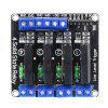HESAI Smart Electronics DC 5V  Channel Solid-State Relay Module Low Level Fuse for arduino Diy Kit