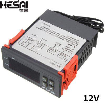 HESAI STC-1000 Digital Thermostat Incubator Temperature Controller Two Relay Output 10A Heat Cool