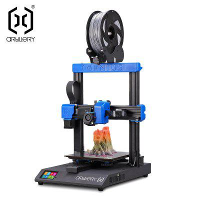 Pre-sale Artillery GENIUS 3D printer Large Plus Size High Precision Dual Z axis TFT Screen DIY face sheild