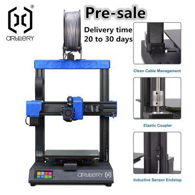 Open to booking Artillery GENIUS 3D printer Large Plus Size High Precision Dual Z axis TFT Screen