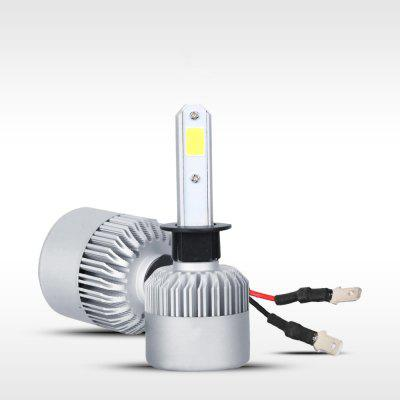 H4 H7 H11 H1 H3 9005 9006 COB LED Car Bulb Light Bulb Lampada 72W 8000LM Hi-Lo Beam 6500K Bianco 2 PZ