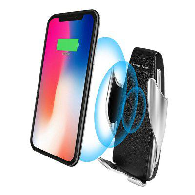 10W Qi Wireless Charger Car Infrared Induction Air Vent Phone Holder Automatic Clamping Stand
