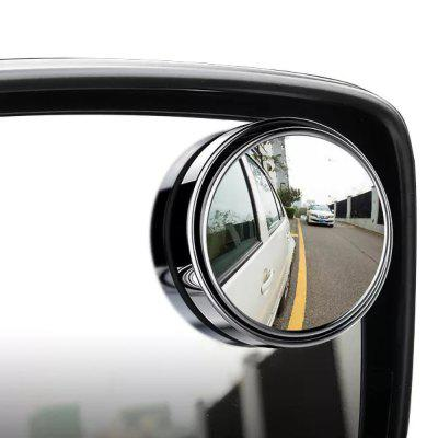 2Pcs Car Vehicle Blind Spot Mirror Rear View Mirrors HD 360 Degree View Adjustable Mirror
