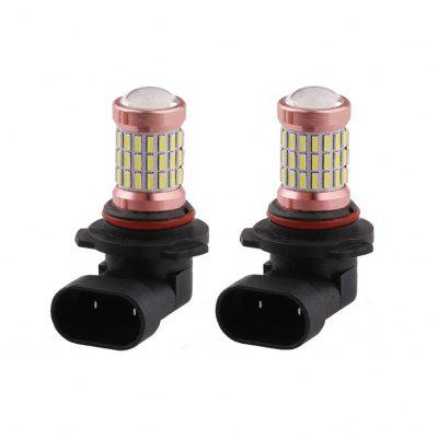 H4 H7 H8 H11 9005 9006 60SMD4014 Car LED Fog Light Headlight Bulb DRL Lamp 2Pcs