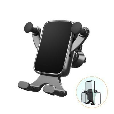 Car Phone Holder Gravity Horizontal Vertical Car Air Vent Gravity Phone Mount stand 360 Degree Adjustable for iPhone Samsung Universial