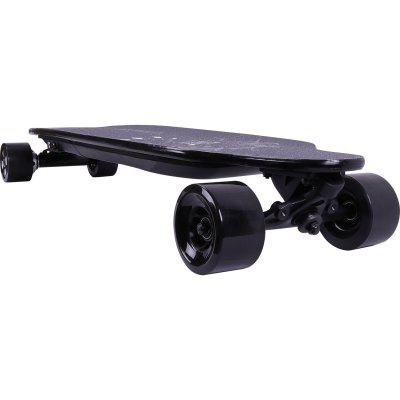 Electric Skateboard 4 Wheels Longboard Remote Control Electric Scooter Adjustable 2 Speed Mode