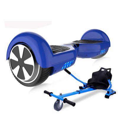 Self-Balancing Scooter Hoverboard 6.5 inch with Hoverkart 700W with LED Bluetooth Speaker