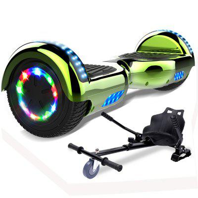 Mega Motion Self-Balancing Scooter Hoverboard 6.5 with Hoverkart LED lights Bluetooth Speaker