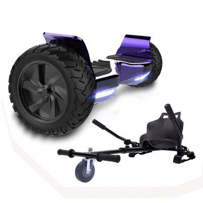 Self Balancing Scooter Hoverboard 8.5 inch All Terrain With Hoverkart Powerful Motor Bluetooth APP