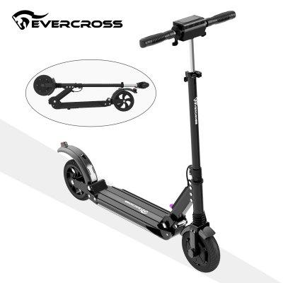 Evercross Electric Scooters Easy Carry Foldable Design for Adult with Handbrake and 2 Wheels