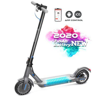 CITYSPORTS Electric Scooter Foldable 8.5 Tires _ Bluetooth _Long-range Battery_Ultra-Lightweight