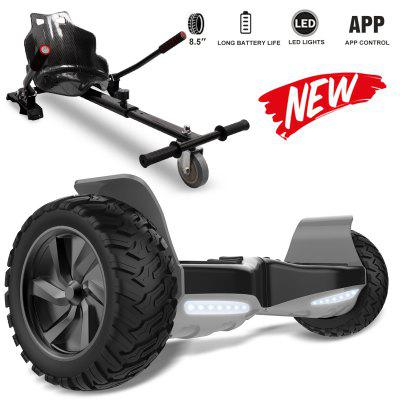 Self Balancing Scooter 8.5 inch All Terrain With Hoverkart Powerful Motor Bluetooth APP