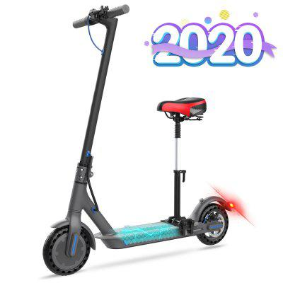 Electric Scooter with Seat Foldable Bluetooth  7.5Ah Long Battery Life 350W for Adult Ultra-light