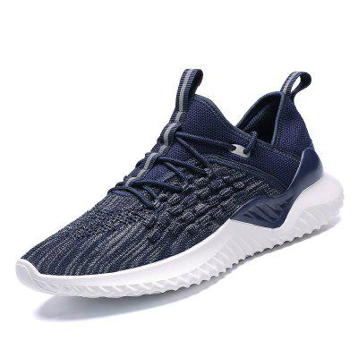 Mens Casual Sneakers Running Shoes Sports Mesh Trainers Outdoor Breathable Shoes