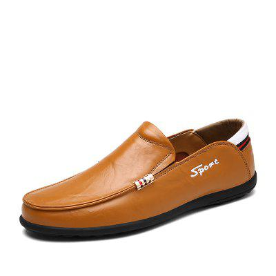 Mens Fashion Loafers Casual Driving Shoes Slip-on Flat Moccasins Boat Shoes