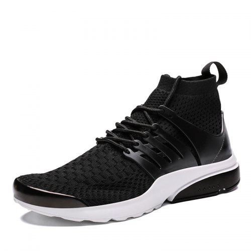 Mens Trainer Outdoor Casual Travel Shoes Sport Running Shoes Lightweight White