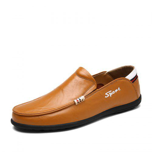 Men/'s Buckle Leather Casual Loafers Driving Moccasins Formal Slip On Chic Shoes