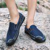 Mens Fashion Mesh Loafers Breathable Casual Driving Shoes Slip-on Flat Moccasins Boat Shoes
